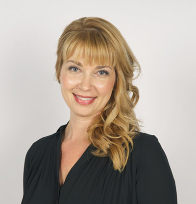 Erika Mopress, licensed esthetician