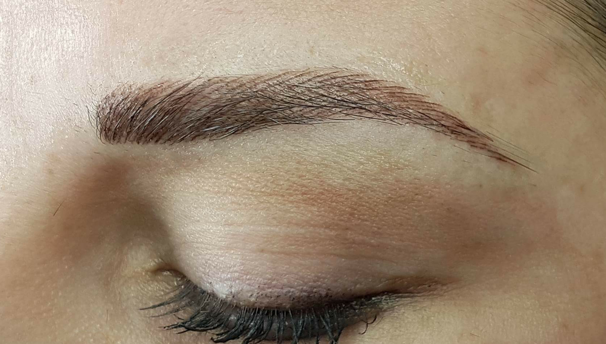 Get shapely eyebrows with permanent cosmetics at pure beauty for Powder eyebrow tattoo